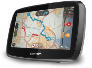 Buy Tomtom Go 400 Europe (45 Countries)  With Lifetime Traffic & Lifetime Maps - Total Satnav